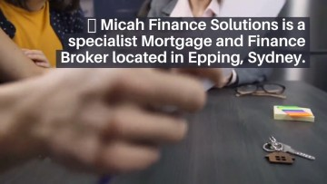 Best mortgage brokers in New South Wales, Sydney, Micah Finance is a specialist Mortgage and Finance Broker located in Epping, the best finance and broker solutions. We help investors move from buying property to creating an income stream for life