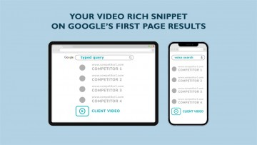 Explore Video SEO service to climb the SERP ranking and capture wider audiences through video content and targeting long tail queries. With this service, marketer can gather more traction on the market, combining paid ads investment with organic SEO