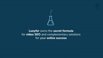 Luxyfer improve the effectiveness of your digital marketing strategy through its innovative algorithm that automatically refines SEO parameters and allows your video to climb Google ranking. Video gets more online visibility for specific search query.